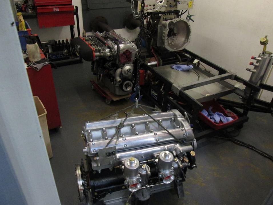 Jaguar Dyno Testing