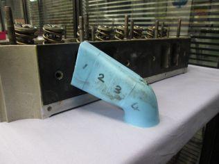 Intake port mold analysis