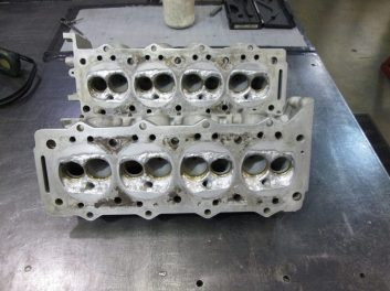 Cylinder head development - Chamber re-profiling