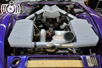 Mock-up intercooled turbo TVR AJPV8