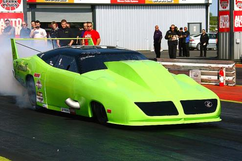I.C.E.-built 500ci Twin turbo pro mod hemi