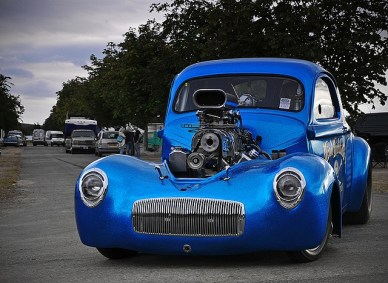 I.C.E.-built 540ci Big block Chevrolet
