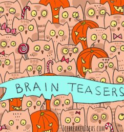 100 Brain Teasers With Answers for Kids and Adults - IcebreakerIdeas [ 700 x 1238 Pixel ]