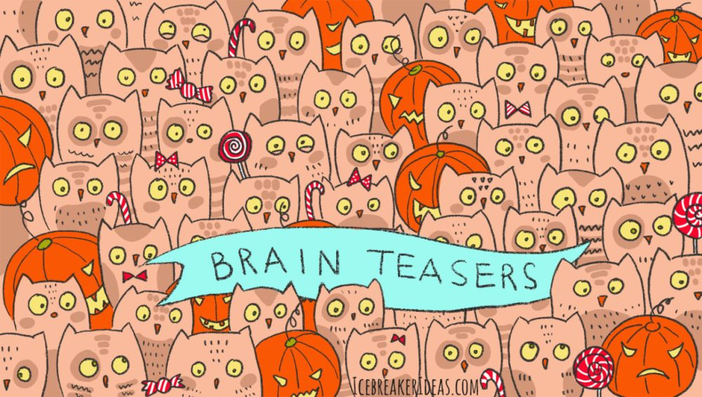 medium resolution of 100 Brain Teasers With Answers for Kids and Adults - IcebreakerIdeas