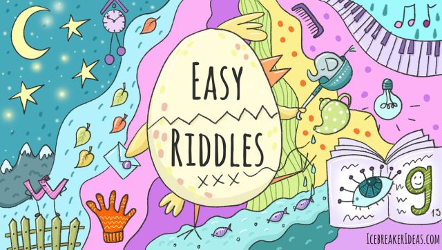 28 Easy Riddles For Kids [With Answers] - IcebreakerIdeas