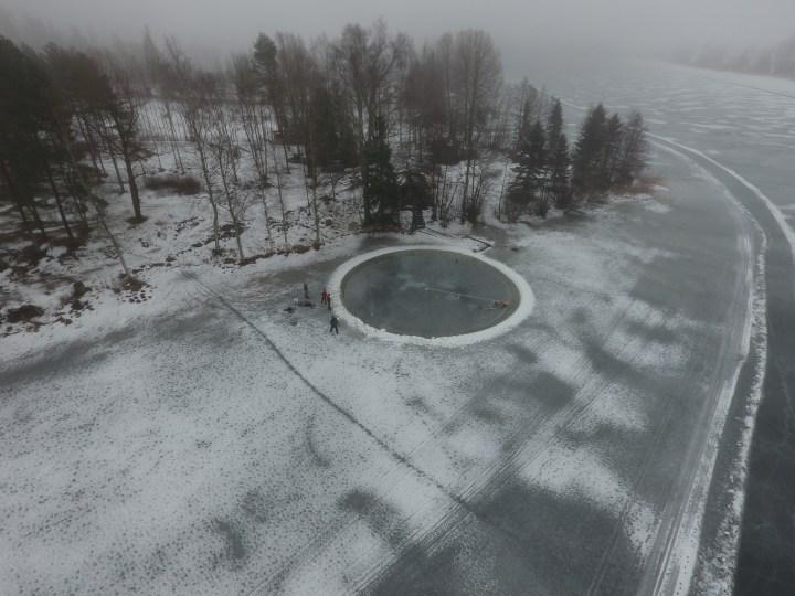 Veikkola Ice Carousel Jääkaruselli by Janne Käpylehto www.icecarousel.com