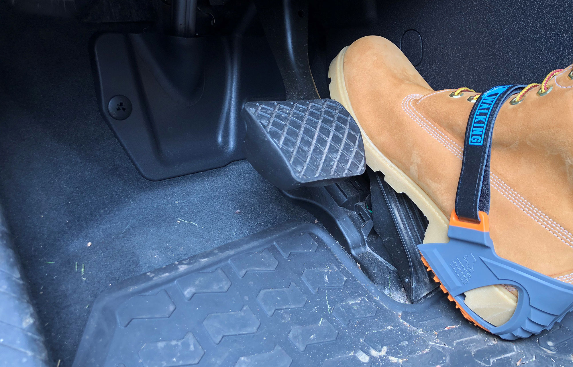 Ice cleats that you can wear while driving
