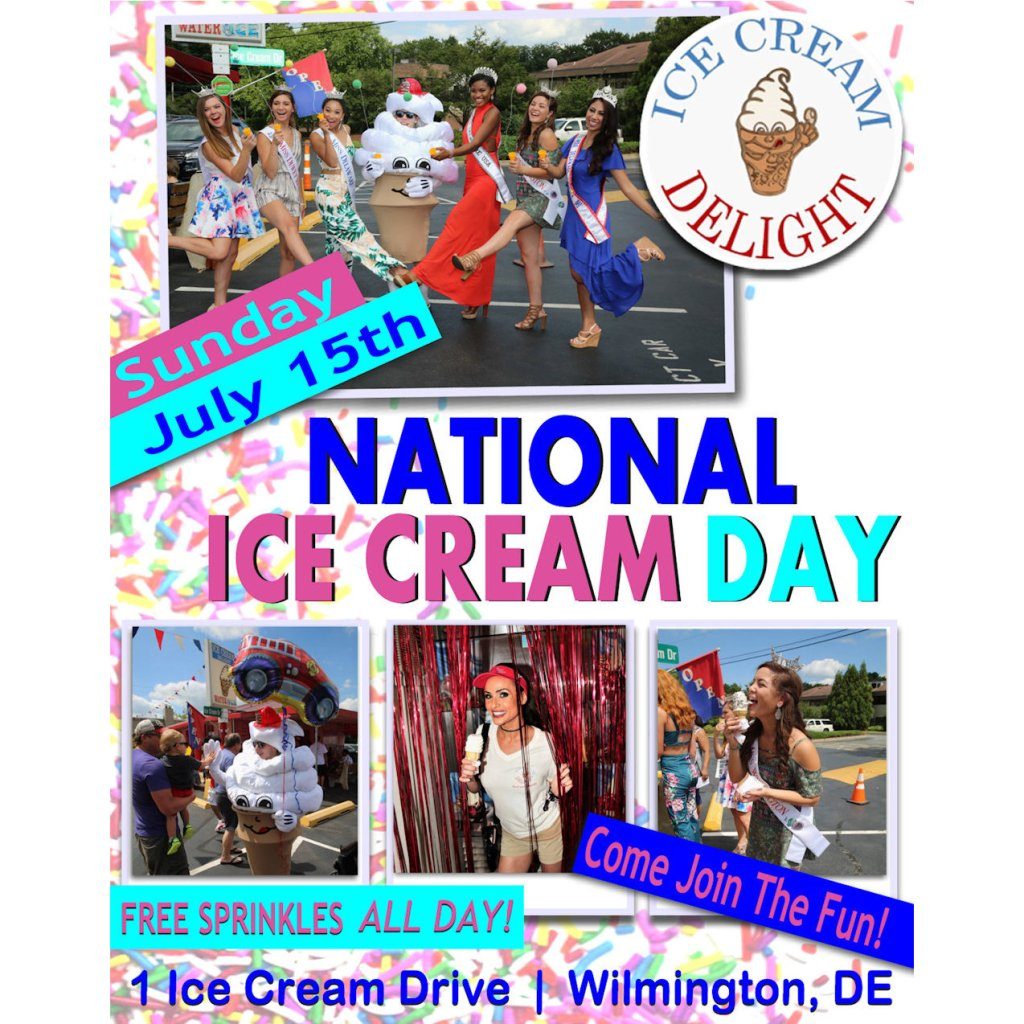 National Ice Cream Day 2018