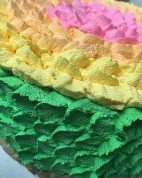 Rainbow Ice Cream Cakes