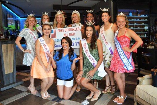 Beauty Queens Ice Cream Day
