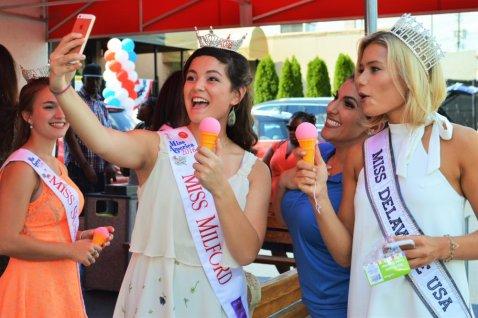 Selfie at Ice Cream Delight of Delaware