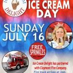 National Ice Cream Day 2017 at Ice Cream Delight