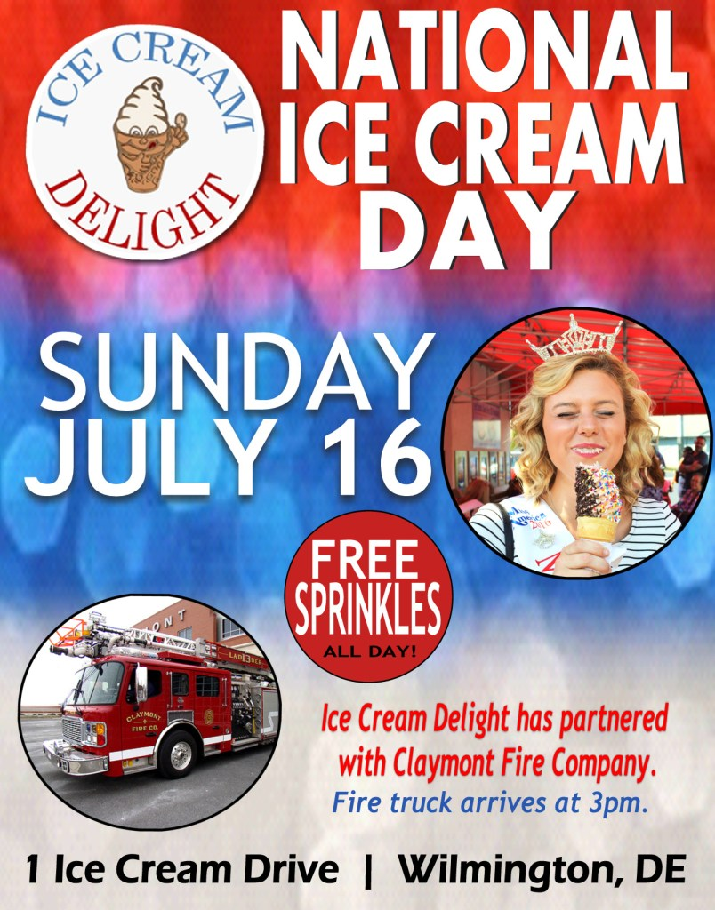 National Ice Cream Day 2017 at Ice Cream Delight