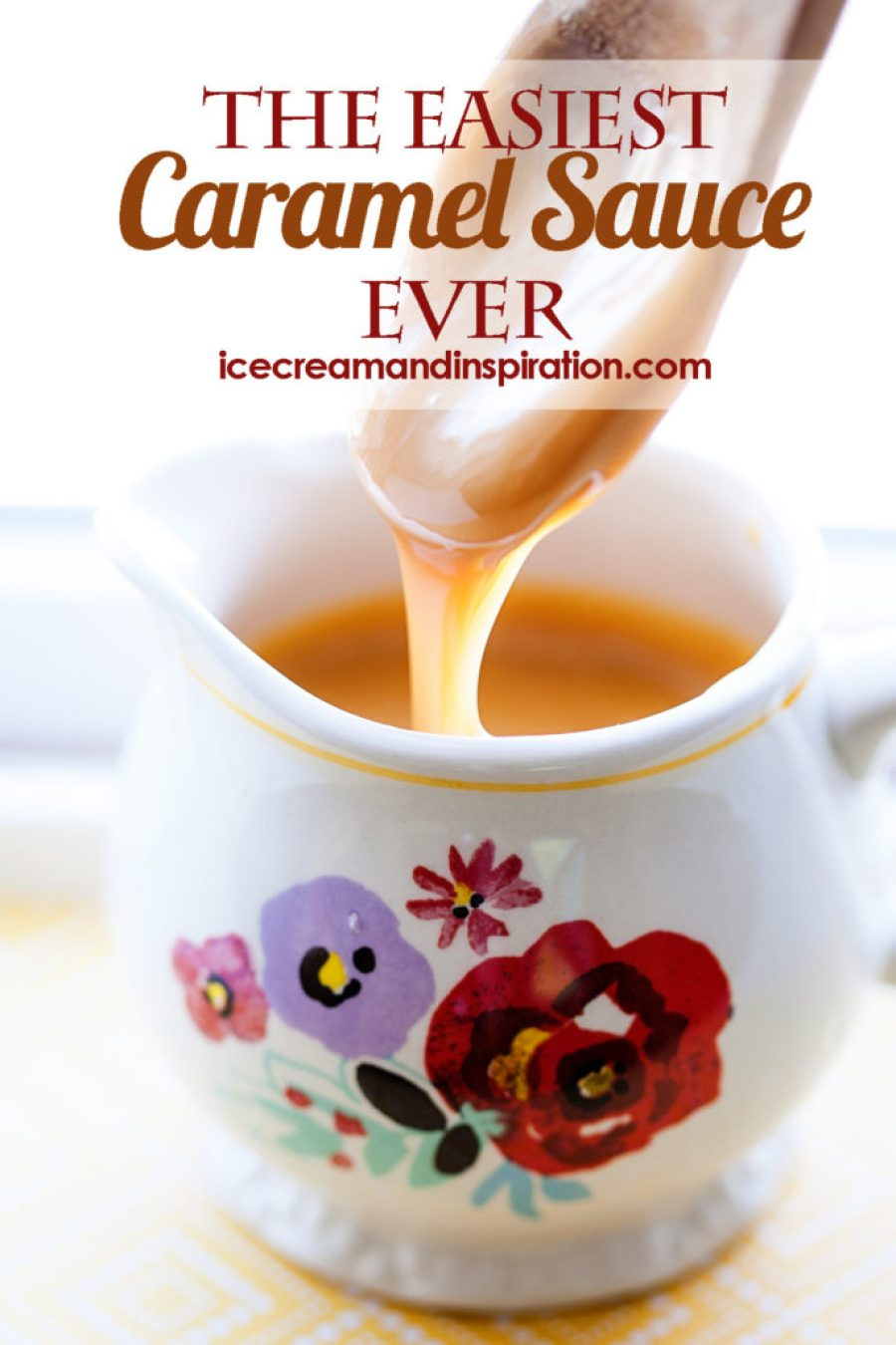 Can you boil water? Good! Then you can make this caramel sauce. All you need is a can of sweetened condensed milk and a little know-how. Caramel sauce recipe, home made caramel sauce