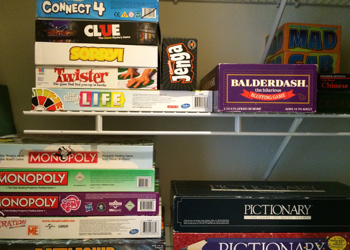 Transform Your Home, Transform Your Life Challenge--Week 27--Games