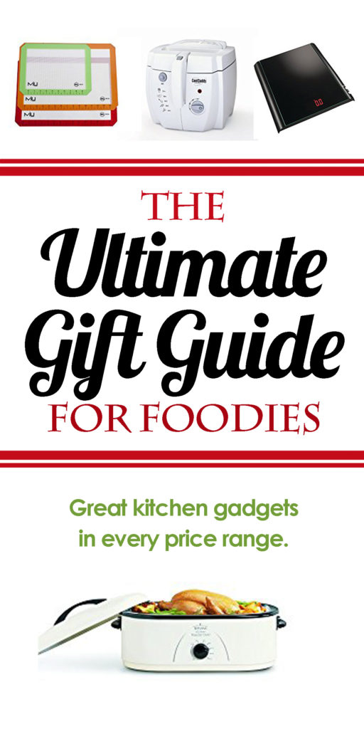 Looking for the perfect gift for the foodie in your life? Check out my list of kitchen gadgets everyone is sure to love! Kitchen gift ideas, kitchen gifts for Christmas, must have kitchen tools, best kitchen tools, best kitchen gadgets, cool kitchen gadgets.