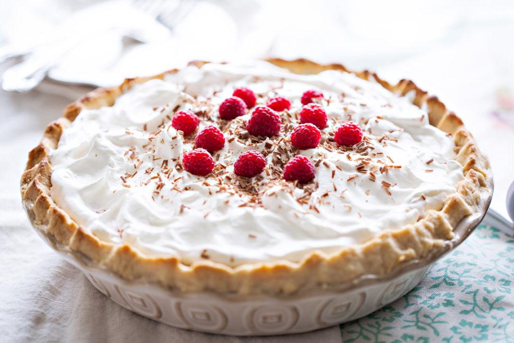 Chocolate Raspberry Cream Pie Ice Cream And Inspiration