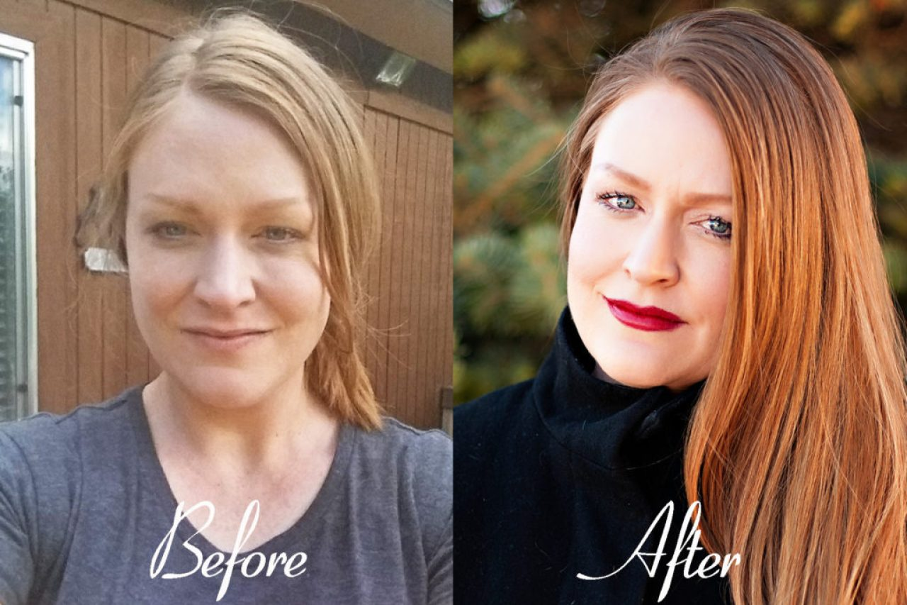 Dressing Your Truth can change your life! See how it brings out the incredible beauty of this amazing Type 4 woman! Are YOU a Type 4 woman? DYT, DYT type 4, DYT makeovers, Dressing Your Truth makeovers