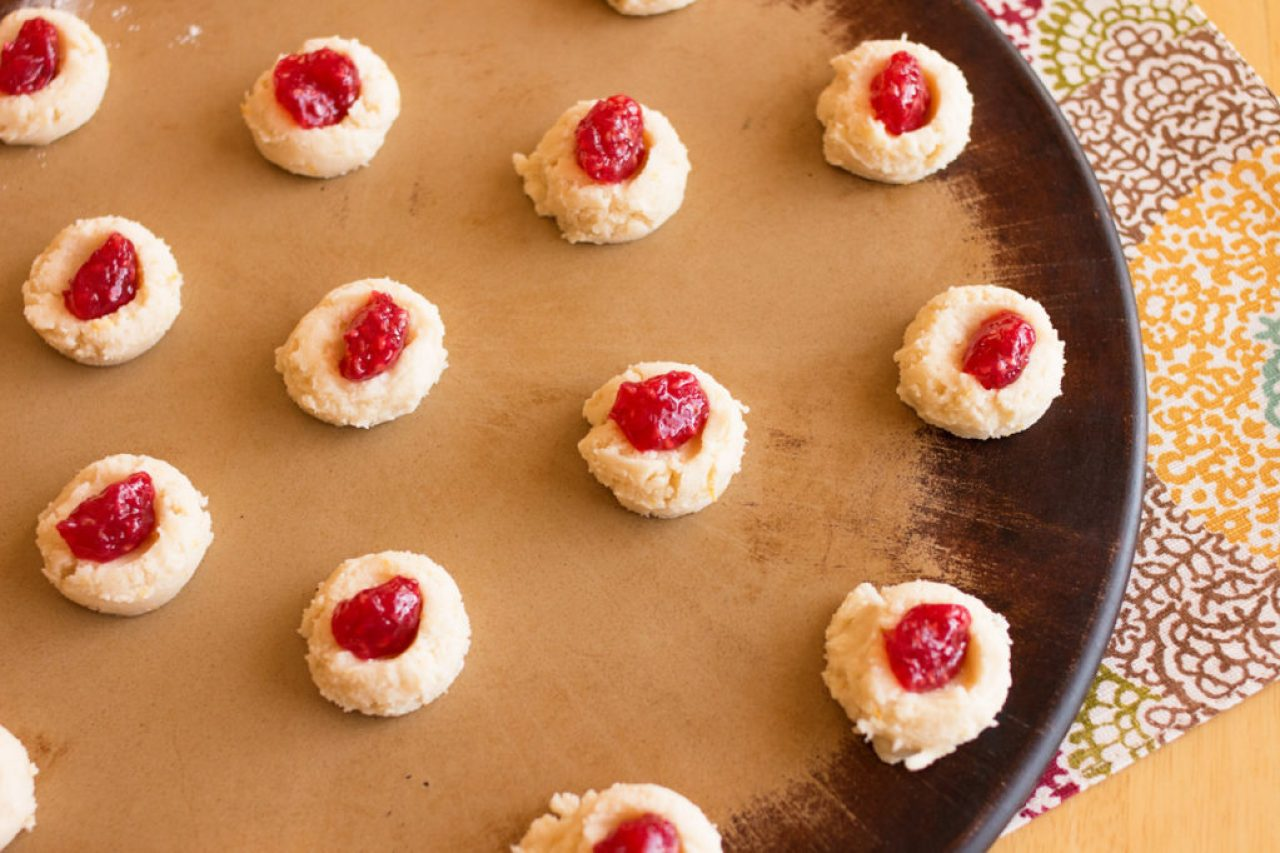 Raspberry Lemon Butter Cookies 2
