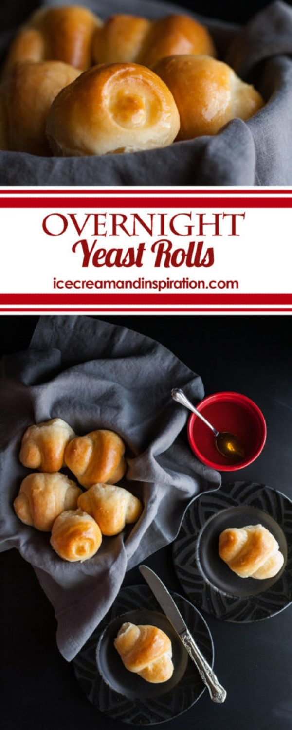 Only the lightest, softest, most feathery rolls you've ever had! Make these Overnight Yeast Rolls and you'll be in bread heaven!
