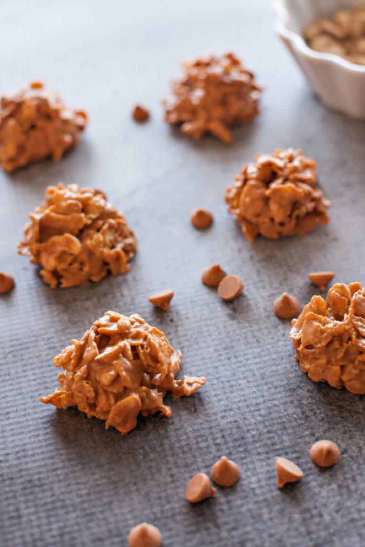 Cashew Cornflake Clusters.