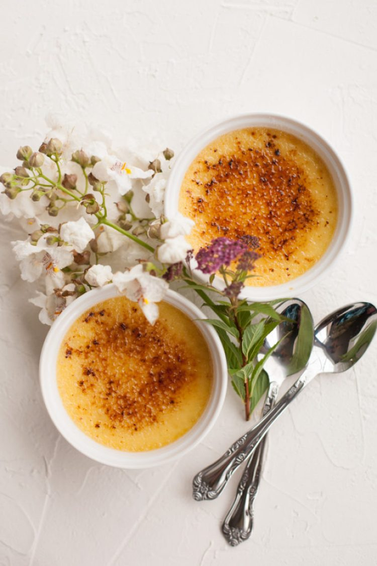 Classic Creme Brulee Recipe tutorial with lots of pictures, tips and tricks.