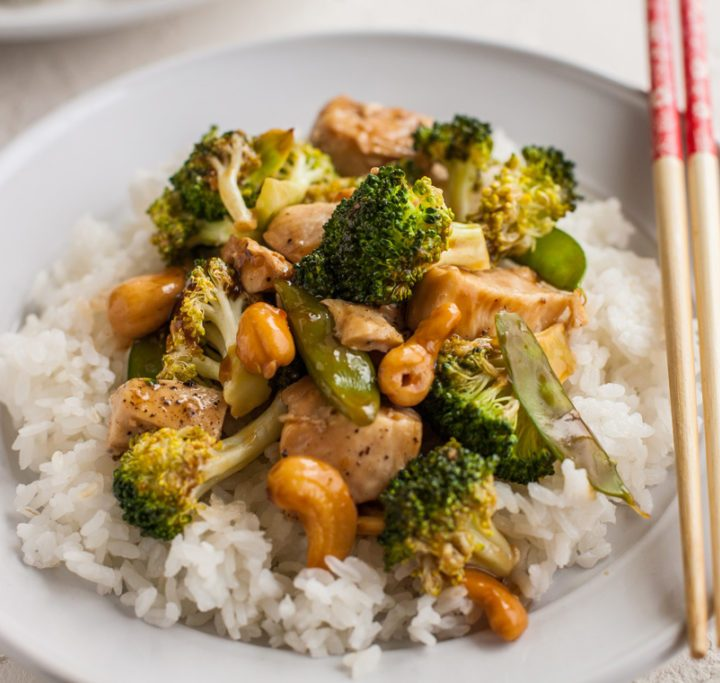 Healthy Baked Chicken and Broccoli