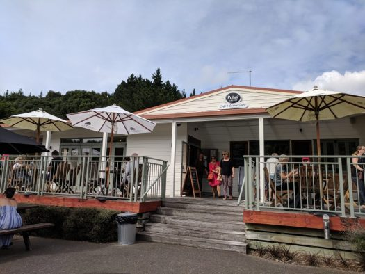 Puhoi Valley Cafe Exterior