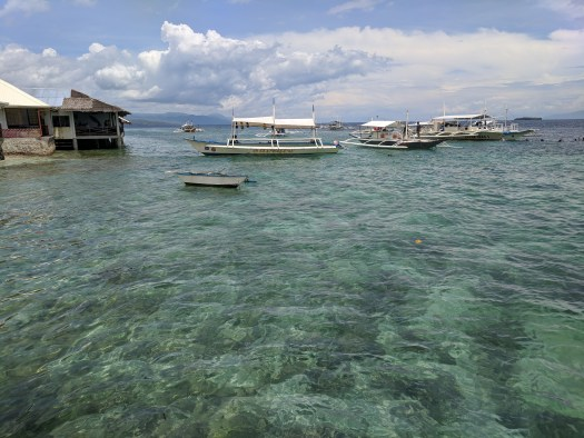 Ocean in Cebu, Philippines