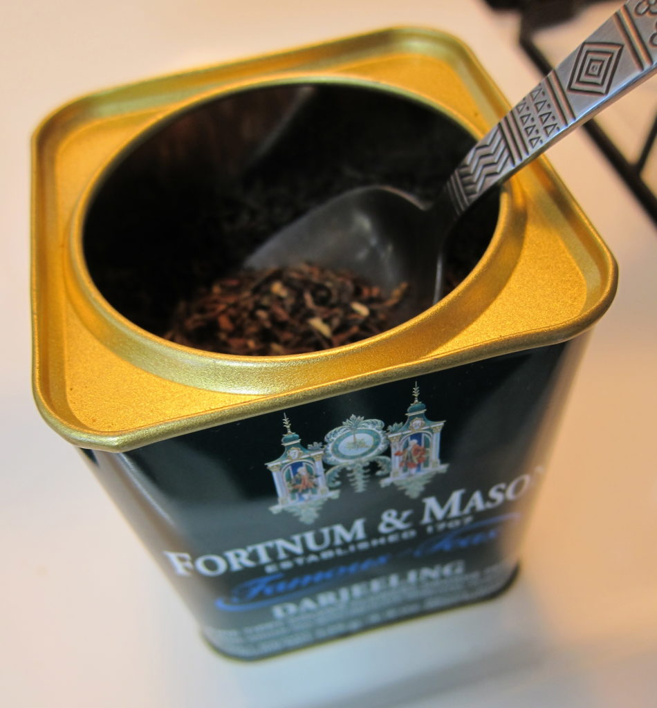 Darjeeling tea from Fortnum and Mason