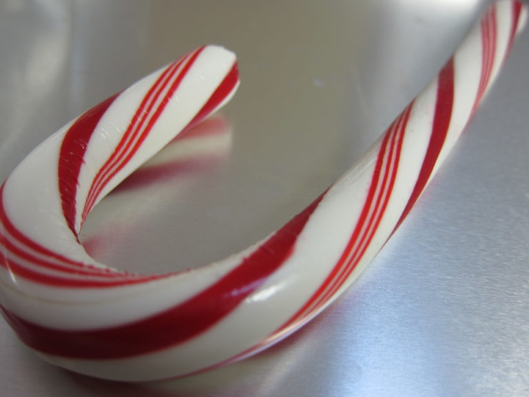 Whole candy cane