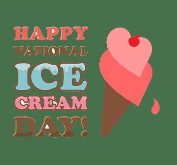 Happy National Ice Cream Day!!!!