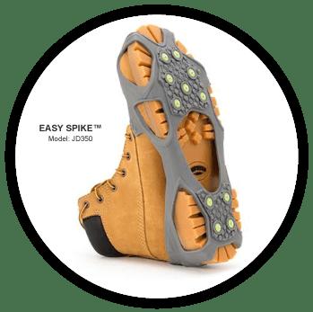 easy spike ice cleats by winter walking