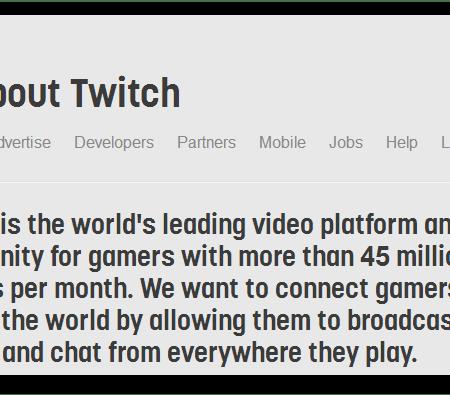 מתבשלת עסקה לקניית חברת שידורי המשחקים Twitch.tv