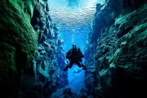 Diving In Silfra Iceland Adventure Tours