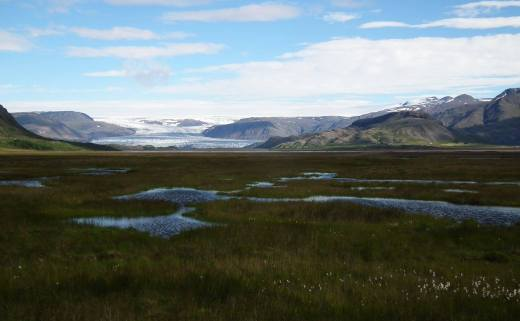 Glacier du Vatnajökull