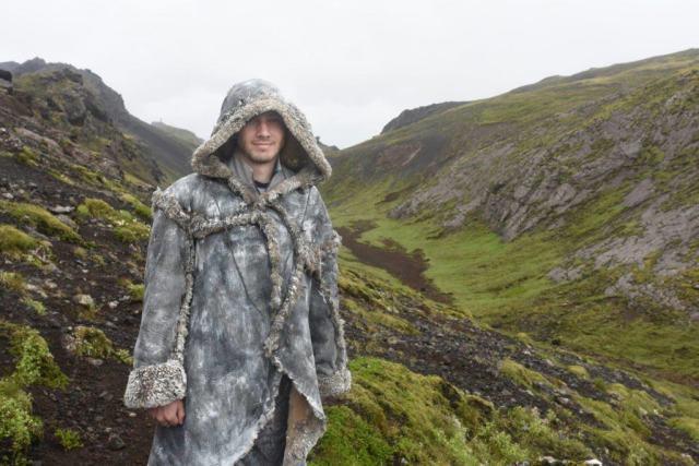 Wildling in Iceland GOT