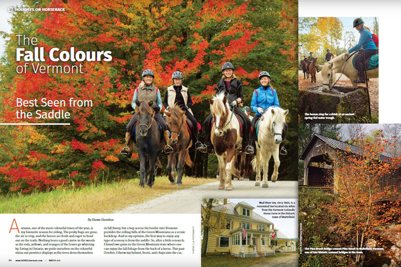 Article About Vermont | Vermont Icelandic Horse Farm & Vacation Rental in Waitsfield