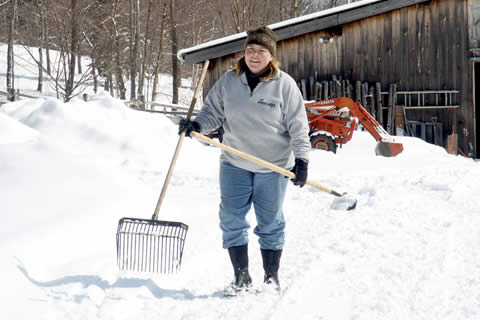 Vermont Winter Farm | Vermont Horse Farm & Vacation Rental in Fayston, Vermont