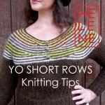 YO short rows