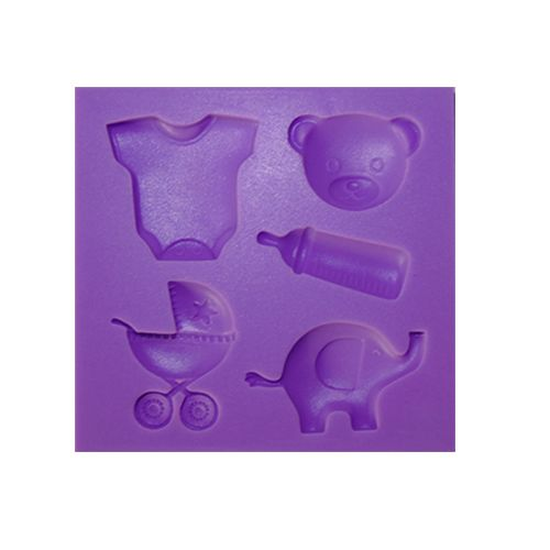 SILICONE PURPLE MOULD F126