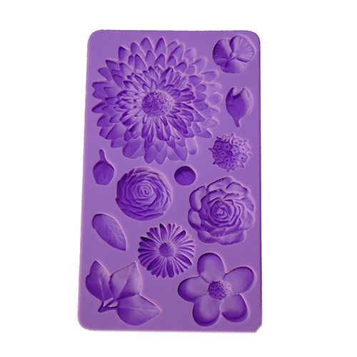 SILICONE PURPLE MOULD F128