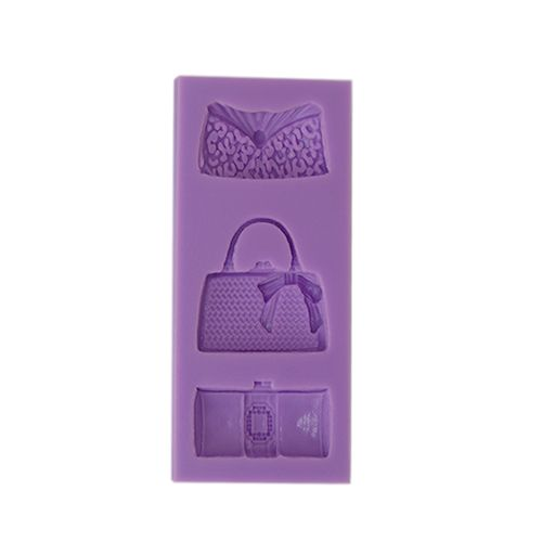 SILICONE PURPLE MOULD F68