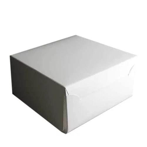 CAKE BOX WHITE 5X5