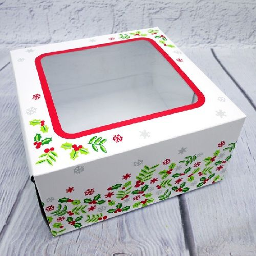 CAKE BOX PRINT 5X5 WINDOW