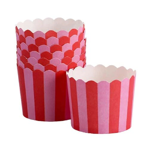 BAKING CUPS DIE CUT ROUND 10PCS