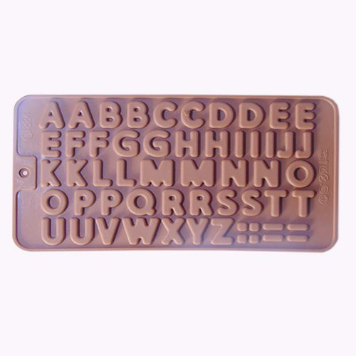SILICONE ALPHABET MOULD