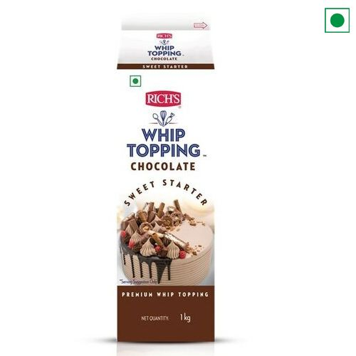 RICH'S CHOCOLATE WHIPPING CREAM 1KG