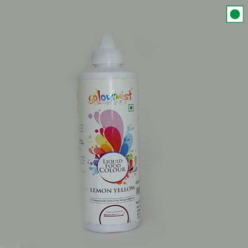COLOURMIST LIQUID FOOD COLOUR 200GM LEMON YELLOW