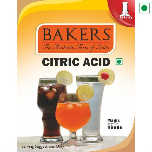 BAKERS CITRIC ACID 50GM